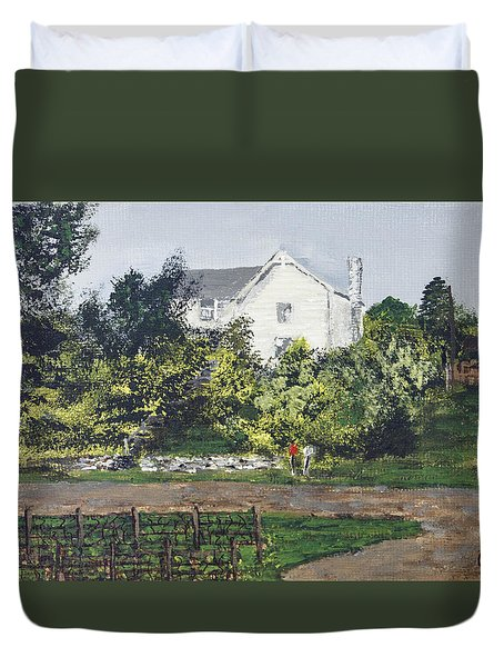 Heart Of The Lakes Duvet Cover