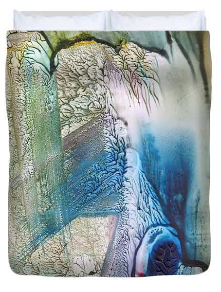 Heart Of The Matter Duvet Cover by Mickey Krause