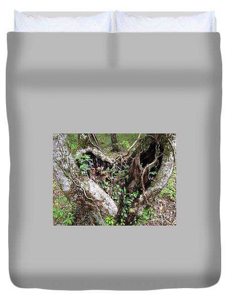 Heart-shaped Tree Duvet Cover