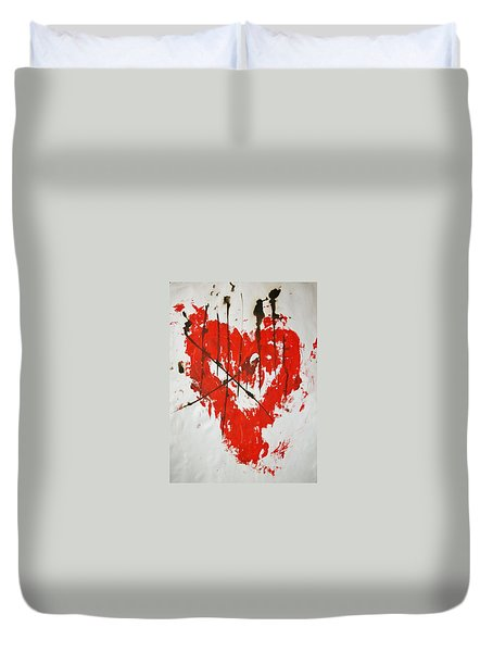Heart Flash Duvet Cover