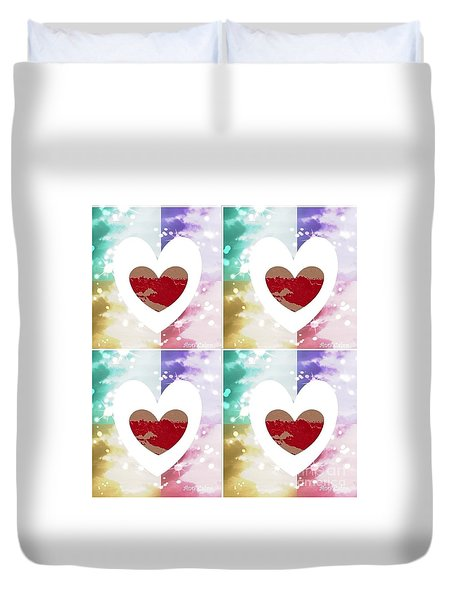 Heartful Duvet Cover
