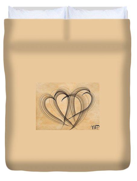 Hearts Of Plenty Duvet Cover