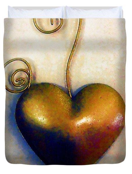 Heartswirls Duvet Cover