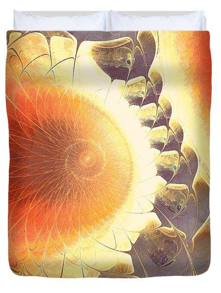 Heat Shield Duvet Cover by Anastasiya Malakhova