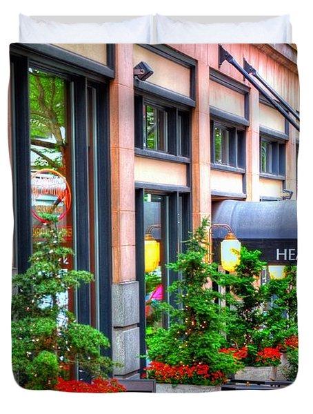 Heathman Restaurant 17368 Duvet Cover