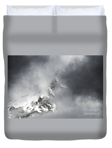 Duvet Cover featuring the photograph Heaven For A Moment by Nick  Boren