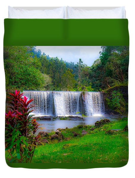 Heaven In The Woods Duvet Cover