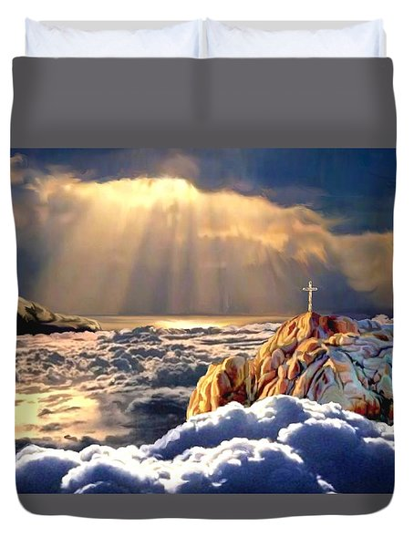 Heavenly Ascension Duvet Cover