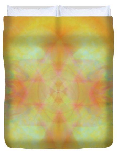 Heavenly Cross Duvet Cover