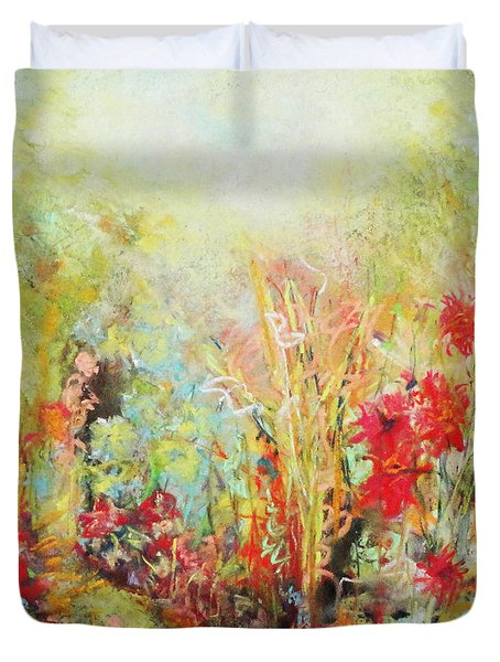 Heavenly Garden Duvet Cover