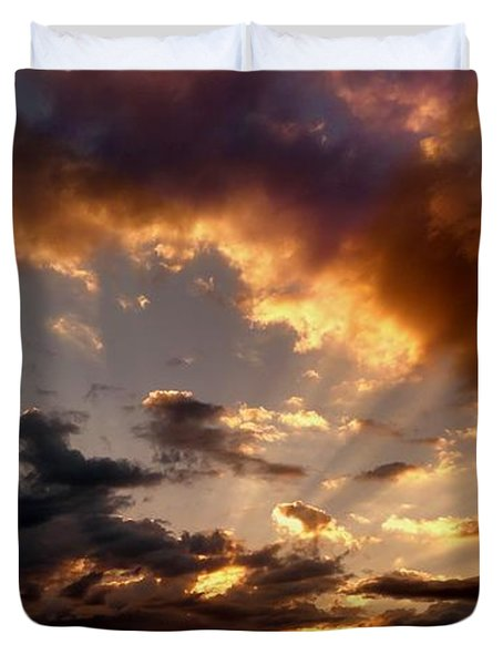 Heavenly Rapture Duvet Cover