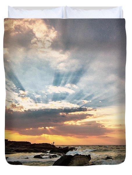 Heavenly Skies Duvet Cover