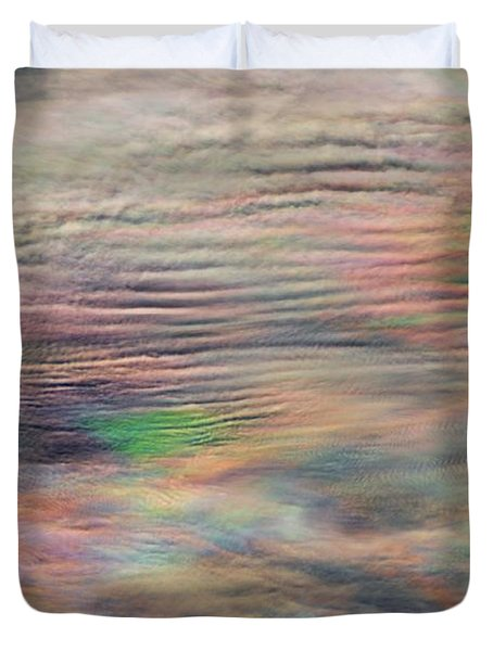 Duvet Cover featuring the photograph Heavens Above by Charlotte Schafer
