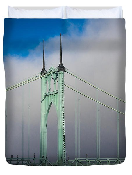 Heaven's Gate Duvet Cover