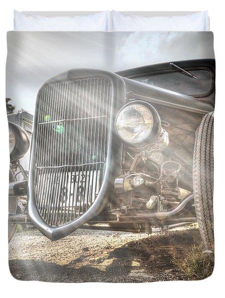Heavens Model T Duvet Cover
