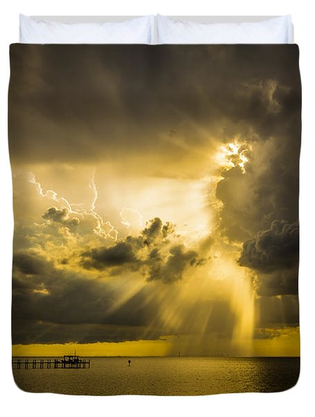 Heavens Window Duvet Cover