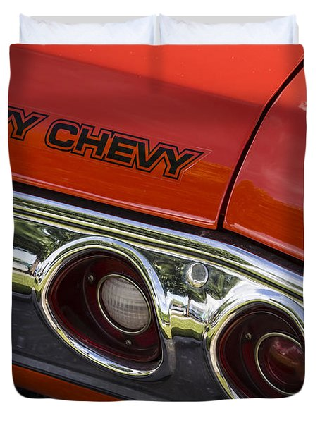 Heavy Chevy Duvet Cover