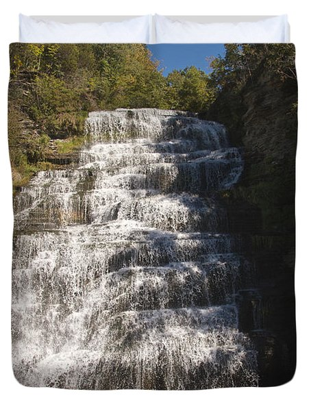 Hector Falls Duvet Cover by William Norton