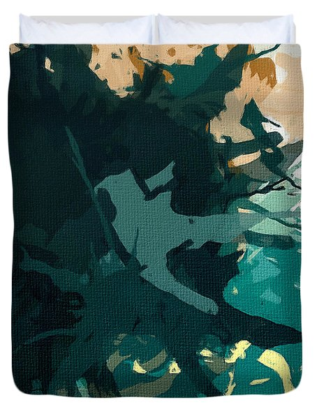 Heightened Energy Duvet Cover by Lourry Legarde