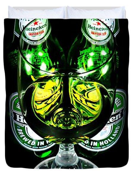 Heineken Duvet Cover