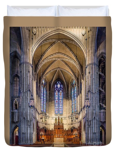 Heinz Chapel - Pittsburgh Pennsylvania Duvet Cover