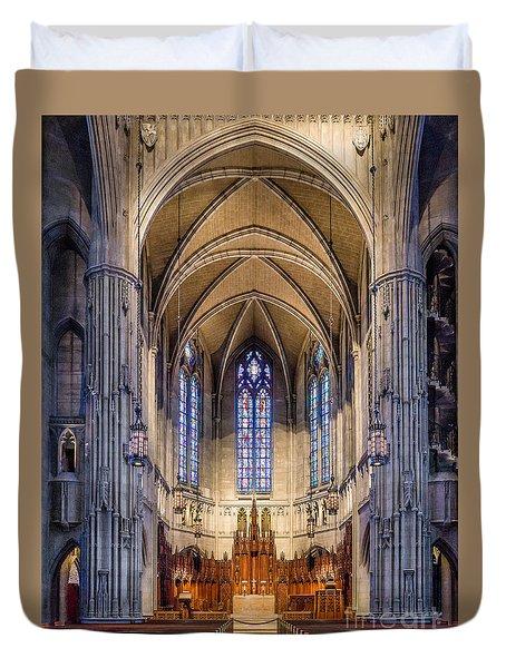 Heinz Chapel - Pittsburgh Pennsylvania Duvet Cover