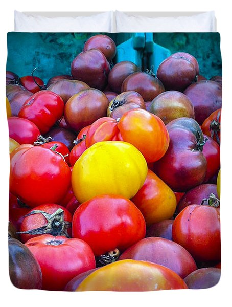 Heirloom Tomatoes V. 2.0 Duvet Cover