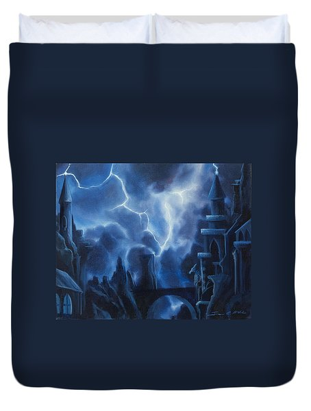 Heisenburg's Castle Duvet Cover