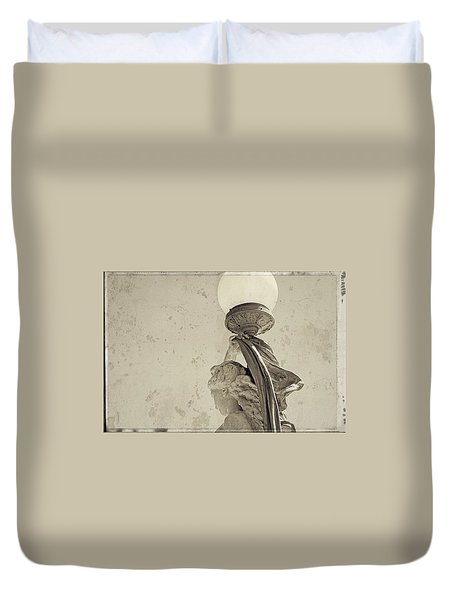 Held High Duvet Cover