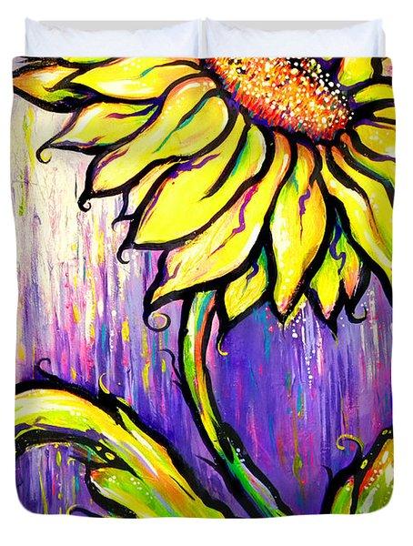 Sunflower I Duvet Cover