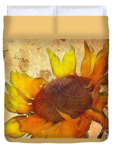 Helianthus Duvet Cover
