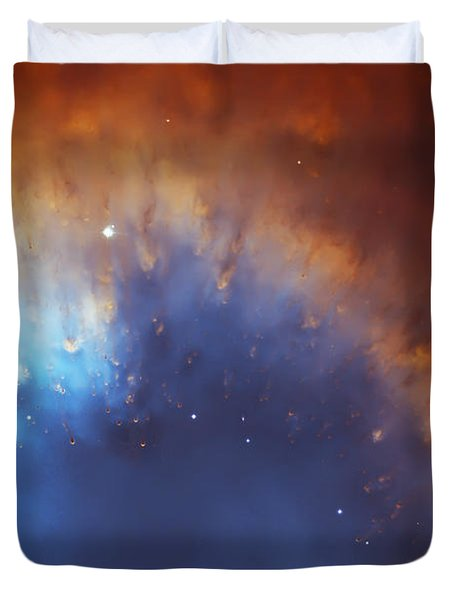 Helix Nebula Close Up Duvet Cover