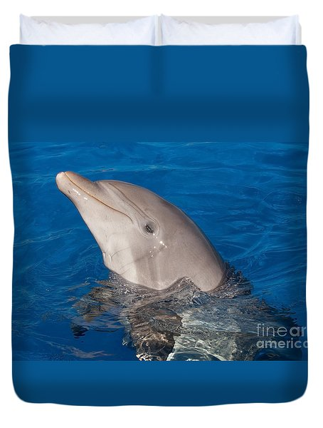 Duvet Cover featuring the photograph Hello Nellie by Paul Rebmann