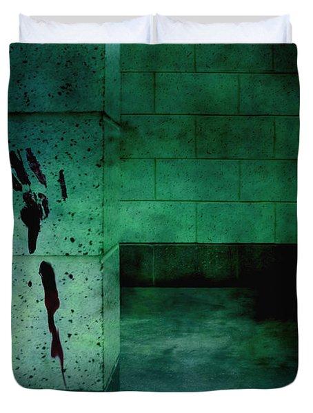 Help Duvet Cover by Margie Hurwich