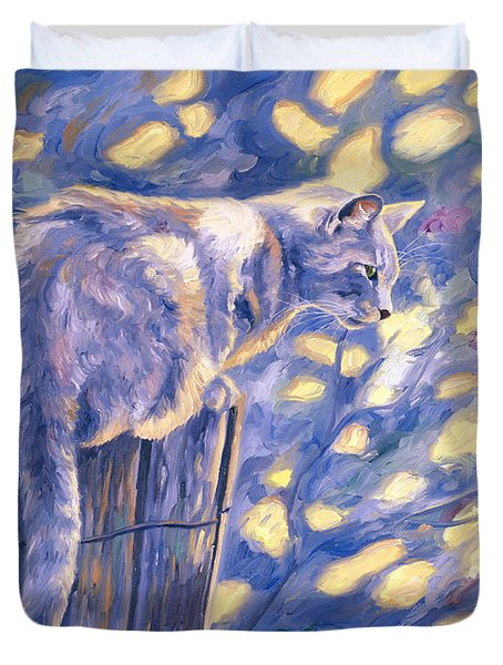 Hemingway Cat Duvet Cover