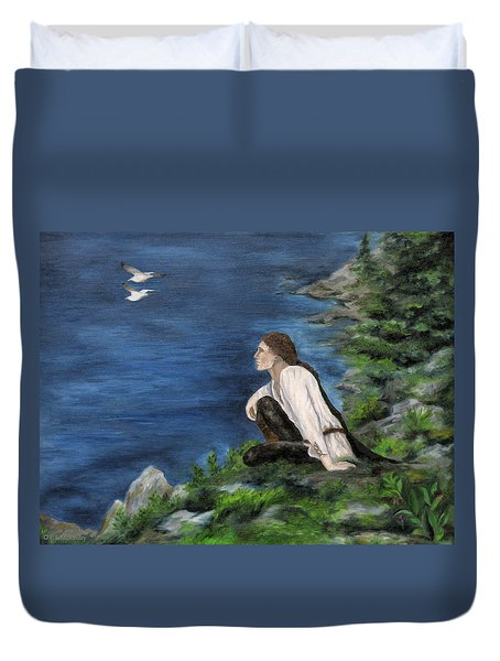 Hemlock Of Mimir Duvet Cover