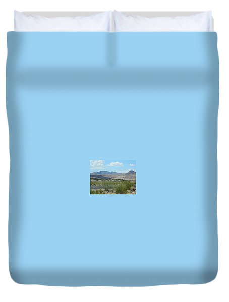 Duvet Cover featuring the photograph Henderson Nevada Desert by Emmy Marie Vickers