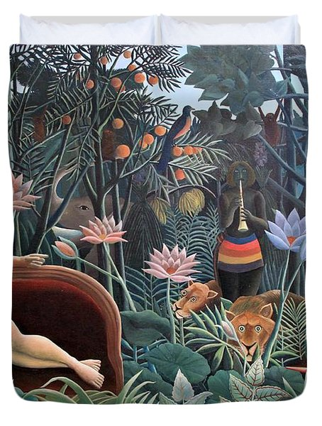 Henri Rousseau The Dream 1910 Duvet Cover