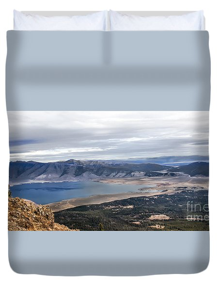 Henry Lake Duvet Cover by Robert Bales