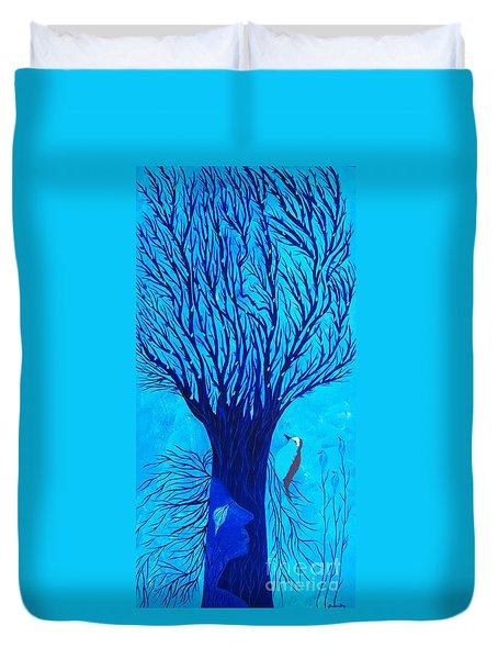Her Tree Of Life  Duvet Cover