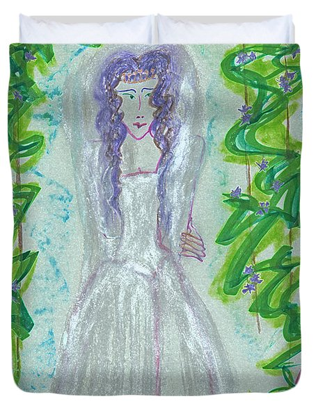 Hera Juno Duvet Cover by First Star Art
