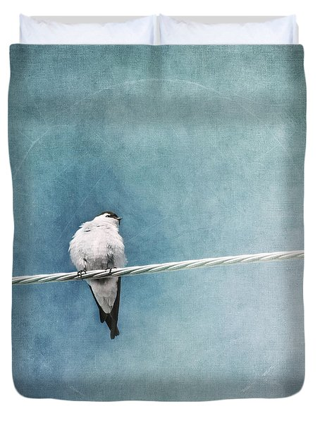 Herald Of Spring Duvet Cover by Priska Wettstein