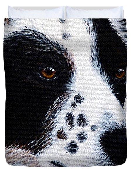Herding Dog Duvet Cover