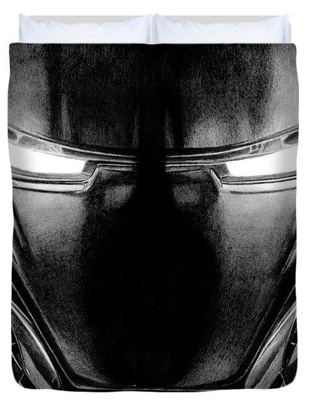 Hero In Shining Iron Duvet Cover by Kayleigh Semeniuk