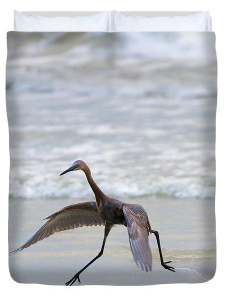 Heron Ballet Duvet Cover