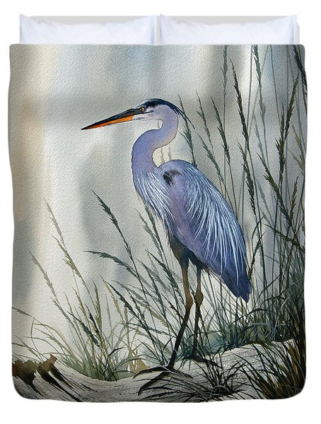 Herons Sheltered Retreat Duvet Cover