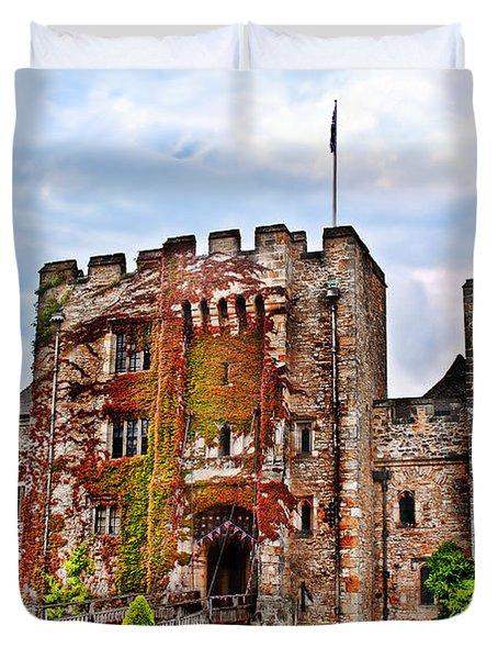 Hever Castle Duvet Cover by Chris Thaxter