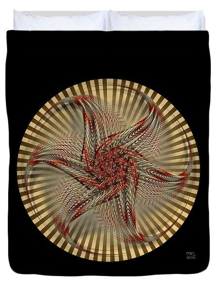 Hexagramma Duvet Cover by Manny Lorenzo