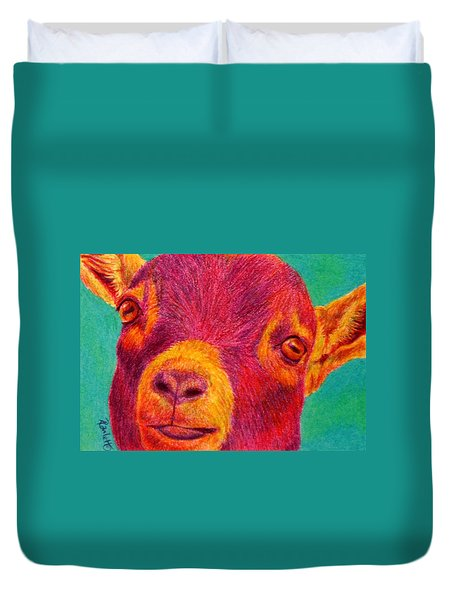 Hey Kid Duvet Cover