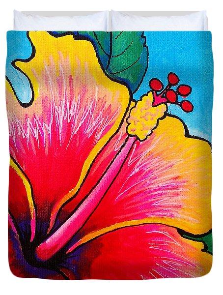 Hibiscus 01 Duvet Cover